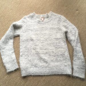 Forever 21 Gray  Fuzzy Sweater. S